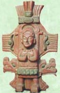 Kukulcán, Mayan god of the wind.