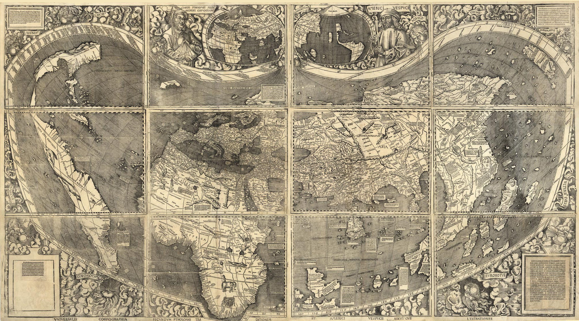 How The North Ended Up On Top Of The Map Al Jazeera America - Old maps of america